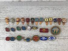 More details for vintage f.d.f. - francis drake fellowship job lot lapel / pin badges 1948 - 1990