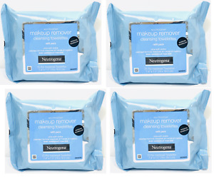 Neutrogena Makeup Remover Facial Towelettes Wipes 20, 25, 50, 75, 100 Pack NEW