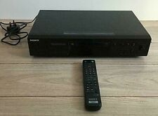 Sony MDS-JE480 Mini Disc Player Recorder With Remote Control - In Black