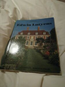Edwin Lutyens (Architectural Monographs, No 6) Book.