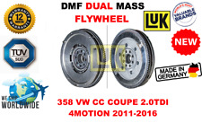 FOR 358 VW CC COUPE 2.0TDI 4MOTION 2011-2016 NEW DUAL MASS DMF FLYWHEEL