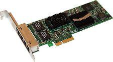 Dell TW39K Quad Port Gigabit ET Ethernet Card Pro/1000 VT D42543 0H092P