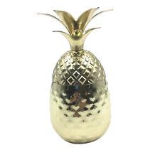 Disposable Pineapple Margarita Cocktail Mug Goblet Cup Glasses 12 oz Gold