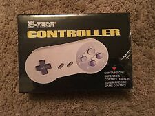 2-TECH SUPER NINTENDO CONTROLLER, NEW IN BOX, SEALED