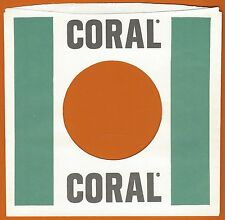 CORAL REPRODUCTION RECORD COMPANY SLEEVES - (pack of 10)