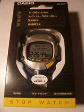 CASIO Stop Watch HS-70W-1JH Black Waterproof Sports Stopwatch Japan  Free ship