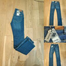 FAT FACE Women Jeans Slim Straight Leg Size 6 New £50 Blue Length 30''