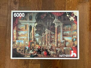 NEW RARE Nathan 6000 PICTURE GALLERY Jigsaw Puzzle by Giovanni Paolo Panini