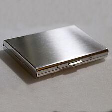 Porte Carte de Crédit en Acier Inoxydable-Porte-cartes sécurisé -Protection RFID