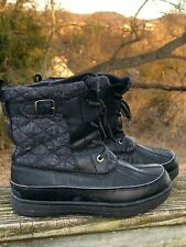 Insulated Quilted Hiking Boots J CREW OUTLET Walking Wilderness Shoes Sz 6 ??b13