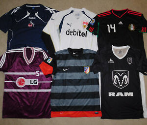 Vintage Soccer Jersey Lot of 6 International National Team Football Club Mens XL