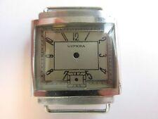 Supera 40's N.O.S. vintage men's watch case & dial ~ mod I