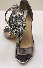 """""""New"""" WOB So Me Bridal Wedding Shoes Heels Womens Sz 8.5 Jewel Bling Rhinestone"""