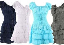 Cotton Short Sleeve Plus Size Dresses for Women