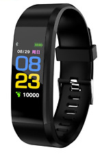 Smartwatch Orologio Bluetooth Pressione Sanguigna Cardio Nero IP67 Android IoS