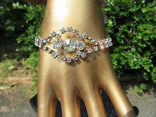 Exquisite Vintage Rhinestone Bracelet. A MUST HAVE! Goddess Jade Jewelry