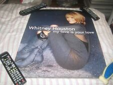 Whitney Houston-(my love is your love)-1 Poster-17X22 Inches!