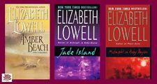 Amber Beach Jade Island & Midnight at Ruby Bayou - Elizabeth Lowell Donovan 1-4