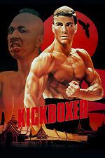 "KICKBOXER 1989 MOVIE SILK POSTER 11""x17"" JEAN CLAUDE VAN DAMME KUNG FU FIGHTING"