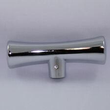T Gear Shift Handle Knob Chrome 36-73