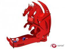 E-Raptor dice tower Dragon Rot Satz Fantasie Tablett Tour Würfel Rot 317153