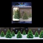 2m Realistic Xmas Tree Window Border Cling Sticker Vintage Christmas Decoration