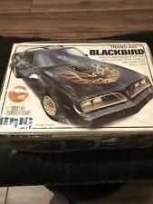 Mpc TRANS AM BLACKBIRD ANNUAL 1-0777 1/25 Rare Kit Factory  Special Edition