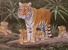 Tras pintar cifras-maternal Watch-Tigre