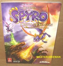 The Legend of Spyro: Dawn of the Dragon Guide Book PS3 PS2 Wii Xbox 360 New