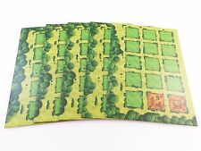 Agricola Replacement / Expansion Farmyard Player Game Board Set 5pc