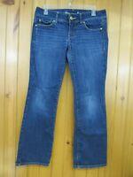 American Eagle Women's Slim Boot Blue Jeans Size 6 Short Stretch Medium Wash