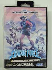 !!! sega Mega Drive Jeu shining force OVP d'occasion, mais bien!!!