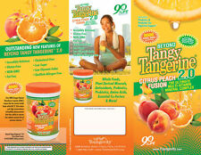 Beyond Tangy Tangerine 2.0 Citrus Peach Fusion by Youngevity. Sample.