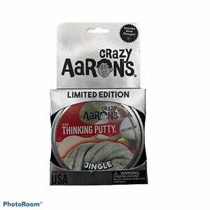 Crazy Glow Thinking Putty Holiday Limited Edition Aaron's Jingle 3.2 Oz Tin NIB