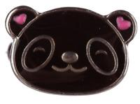 1 x Cute Kids Panda Mood Ring - Kids Adjustable Jewellery + Colour Chart Child's