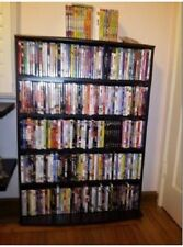 Media Rack 426 CD or 280 DVD Games Multimedia Tower Storage Shelves Shelf Unit