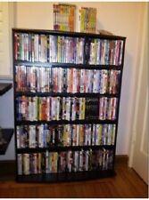 Media Rack 426 CD or 280 DVD Games Multimedia Tower Storage Shelves Shelf  Unit