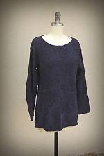Metropolitan New York 1001 Size XS/S Slouch Sweater Blue