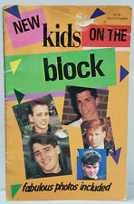 Vintage 1989 New Kids on the Block Nkotb Unauthorized Biography Wahlberg Pop 1i