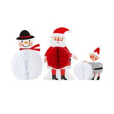 Décorations de Noël et sapins multicolore pour la cuisine