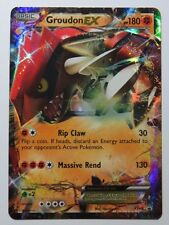 Groudon EX - XY42 - Ultra Rare Promo Pokemon Card