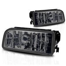 92-98 BMW 3 Series E36/M3 Fog Lights Pair Set - Smoke Lens w/Bulbs
