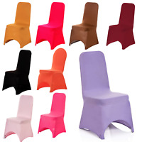 Spandex Dining Chair Covers Slip Seat Cover Stretch Removable Wedding Party