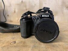 Nikon COOLPIX L120 14.1MP Digital Camera - Black READ