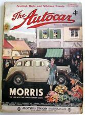 The AUTOCAR 2 Jun 1939 Original Motoring Car Magazine