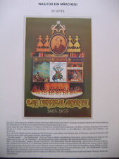 Irrtümer auf Briefmarken / St. Kitts : 200. Geburtstag Hans Christian Anderson
