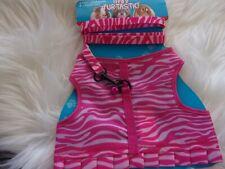 pink Zebra Life's Fur-tastic Leash Harness S L Rabbit Ferret Rat new guinea pig