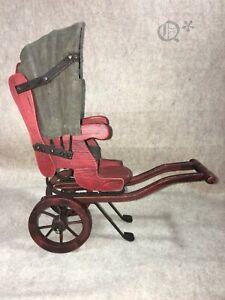 Vintage Handmade Wooden Rickshaw