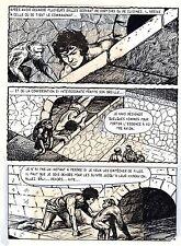 TAROU CONTRE LES SOLDATS JAPONAIS (BOB DAN) PLANCHE ORIGINALE AREDIT  PAGE 12