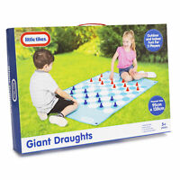 Little Tikes Giant Draughts 2 Player Board Game Outdoor Indoor Family Kids Fun